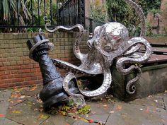 Octopus plus my favorite chess piece