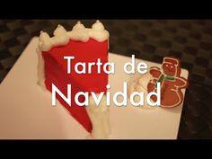 ▶ Tarta Papá Noel de Navidad de Chocolate y Mazapán - YouTube