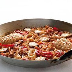 Παέγια με θαλασσινά - συνταγες - μαγειρικη - φαγητα - συνταγές - Το Βήμα Online Seafood, Ethnic Recipes, Sea Food, Seafood Dishes