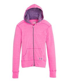 Under Armour® Chaos Triblend Zip-Up Hoodie - Girls 81653697388c