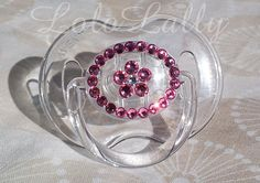 Baby Bling Rose Swarovski Crystal Flower Rhinestone by LoloLally, $16.00