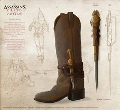 ArtStation - Jack Couvela Brief: Assassins Creed - OutLaw - Boot Weapon, Joshua Dunlop