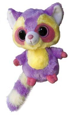 YooHoo And Friends Marias The 5 Inch Plush Raccoon By Aurora