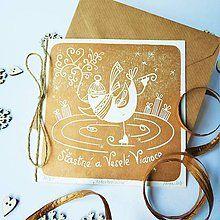 Papiernictvo - Vianočná pohľadnica * Krasokorčuliar - 7299648_