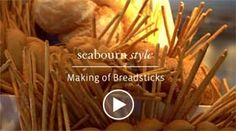 Seabourn cruise line breadsticks are famous! Their executive chef shows us how he and his team make our oh-so-delicious breadsticks!