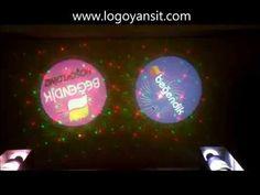 Logo Yansit Dış Ortam Dönen Logo ve Lazer Ankara Beğendik Mağaza Logoları - YouTube