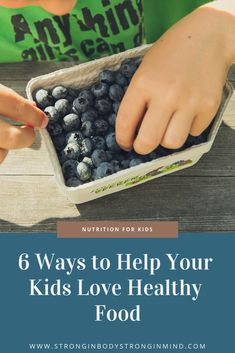 Kids are eager to learn and grow, and there are many ways you can get on their level to help them get on yours when it comes to healthy eating. Here are some ideas to get you started. Healthy Eating Habits, Healthy Eating For Kids, Healthy Foods To Eat, Healthy Snacks, Healthy Recipes, Frugal Meals, Budget Meals, Frugal Recipes, Fast Recipes