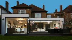 Like the look of this, but maybe too much glass across the back? Consider a bit of cover over the terrace area?