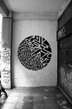Graffiti meets Typography – Greg Papagrigoriou & Simek || asdjfkalsdjfkalsdf LOVE
