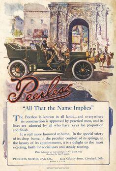 Peerless Vintage Ads