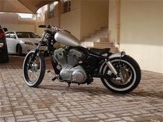2005 Harley-Davidson Sportster XL883L bobber helicóptero da velha escola