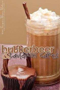 Sugar Bean Bakers: {Cauldron Cakes & Butterbeer}