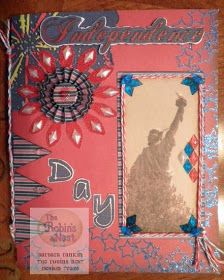 Chattering Robin's: Independence Day Card or Mini Album?