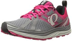 Pearl Izumi Womens W EM M 2 V3 Trail Runner Smoked PearlBright Rose 95 B US * You can get more details by clicking on the image.