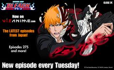 A series about Shinigami's (death reapers) and Hollows (ghosts that went awry) and a young man who became both.