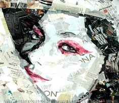 Collage Art of Derek Gores pic on Design You Trust