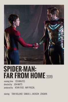 Alternative Minimalist Movie/Show Polaroid Poster Spiderman Far From Home Iconic Movie Posters, Marvel Movie Posters, Minimal Movie Posters, Minimal Poster, Cinema Posters, Movie Poster Art, Poster Wall, Poster Prints, Poster Series