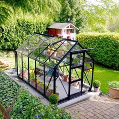 Fish Farming, Pranayama, Glass House, Indoor Plants, Craftsman, Brick, Home And Garden, Greenhouses, Gardening