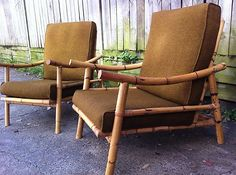 love these - Bamboo armchairs