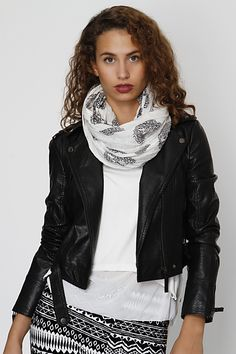 Made of Grace Made Of Grace, Fall Scarves, Aztec, Skull, Leather Jacket, Jackets, Fashion, Studded Leather Jacket, Down Jackets
