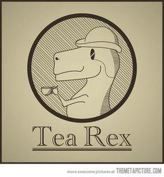 Sir T-Rex, Steampunk Dinosaur// like a real SIR