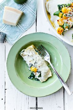 Spinach and Feta Lasagne
