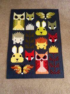 Handmade baby quilt