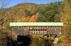 Worral Covered Bridge, Rockingham, Vermont