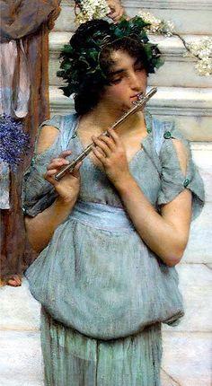 Princesa Nadie: Alma Tadema