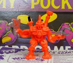 Monster in my Pocket - 176 Asteroid Attack Android - Space Aliens Space Aliens, My Pocket, Ebay