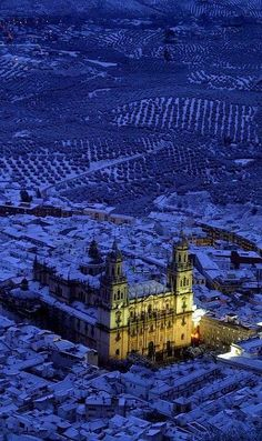 Winter.. Jaén Cathedral, Andalucia, Spain
