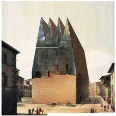 Beniamino Servino. Palazzo delle ragioni della città. Palace of the city's reasons.