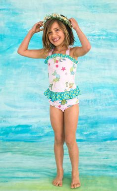 Our beautiful tankini will make your girl feel like a mermaid all summer long!