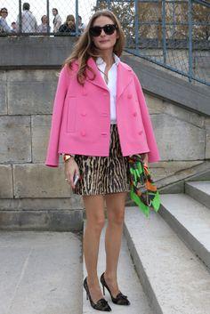 Perfecta en el front row: todos los looks de Olivia Palermo