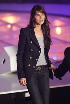 Charlotte Gainsbourg. I like her outfit