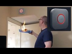 Nest Protect - Latest Version - Unbox, Setup and Fire Demo - Smoke & Car...