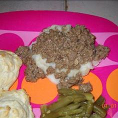 CB's Hamburger Gravy on BigOven: For meat and potaoes fans, this is so easy, affordable, and quick to make. Passed down through my family. All spices, with exeption to salt and pepper, are optional to taste. You could add onion or tomatoe, to give it your favorite cheeseburger flavors.