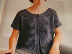 modèle tricot a la main