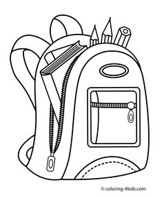 School Coloring Pages Printable . 24 School Coloring Pages Printable . Free Printable Christian Coloring Pages for Kids Best Free Printable Coloring Pages, Free Coloring Pages, Coloring Books, Free Printables, Simple Designs To Draw, Backpack Drawing, Free Coloring Pictures, Cute Diy, School Coloring Pages