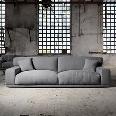 Meet an elegant combination of comfort and practicality from the world of modern furniture designs called the Doyle Sofa.