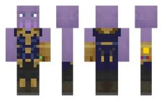 Happy Thanos skin for Minecraft Minecraft Skins, Lego, Happy, Fictional Characters, Art, Art Background, Kunst, Legos, Ser Feliz