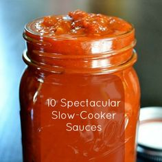 Slow Cooker Marinara Sauce - The magical long, slow cooking process caramelizes the sugars in the tomatoes and creates a depth of flavor that can't be matched.- BEST marinara sauce ever! Crock Pot Slow Cooker, Crock Pot Cooking, Slow Cooker Recipes, Crockpot Recipes, Sauce Recipes, Drink Recipes, Cooking Tips, Think Food, I Love Food