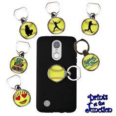 Softball Phone Ring Holder Gift/Softball Ring Stand/Finger