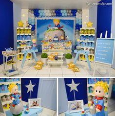 Aniversário Vicente {Pequeno Príncipe} na Casa de festas Festa de Criança…