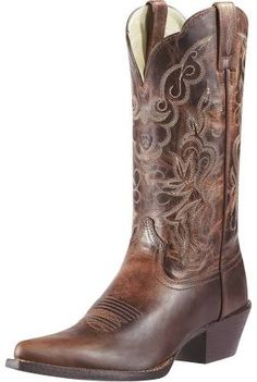 620552d9bc97 ladies cowboy boot ariat brown - Google Search Wedding Boots