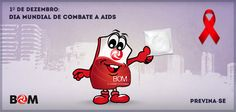 Dia Mundial de Combate a Aids.
