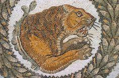 Roman Mosaic, Bardo Museum, Tunisia, Landscape