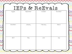 A Special Sparkle: Back to School: 10 Tips for Leading an IEP Meeting