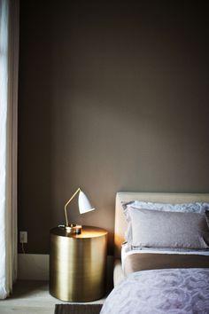 Modern brass side table. Living room inspiration. #livingroomideas #livingroomfurniture See more: https://www.brabbu.com/en/all-products.php