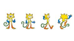 Vinicius_poses_ref Cartoon Network, Character Art, Character Design, Olympic Mascots, Rio 2016, Burger, Cartoon Styles, Art Blog, Olympics